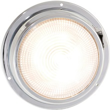 "5.5"" LED dome light warm white"