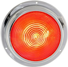 "5.5"" LED dome light red"