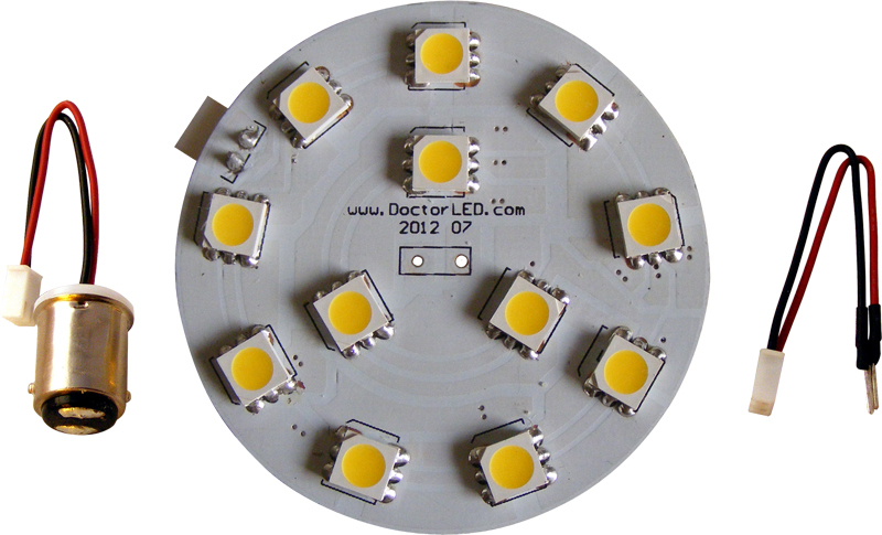 marine dome light LED converison kit