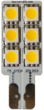 wedge base LED bulb