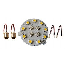 12V R/W Dome Light SMD LED Kit