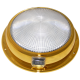 6 3/4 inch White/Red Mars Dome (Brass) 	12V