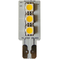 Single Sided T5 Wedge LED (3 LEDs)